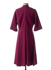 Robe mi-longue violet PAULE KA pour femme seconde vue
