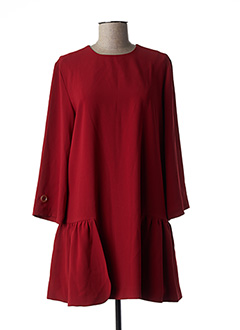 Robe courte rouge LAURENCE BRAS pour femme
