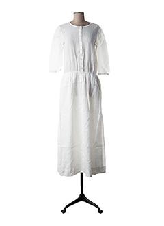 Robe mi-longue beige LES COYOTES DE PARIS pour femme