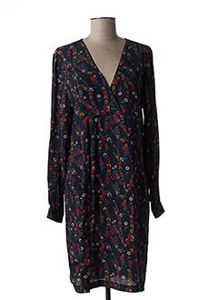 Robe mi-longue noir LA PETITE FRANCAISE pour femme