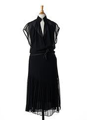 Robe mi-longue noir BY MALENE BIRGER pour femme seconde vue