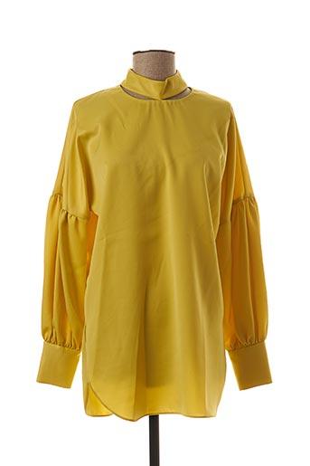Tunique manches longues jaune BY MALENE BIRGER pour femme