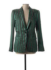 Veste chic / Blazer vert BY MALENE BIRGER pour femme seconde vue