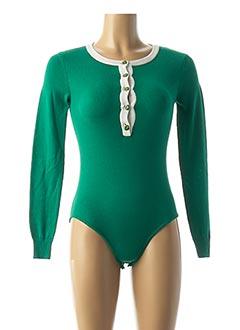 Body vert VANESSA SEWARD pour femme