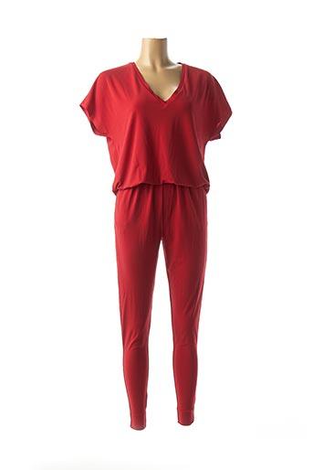 Combi-pantalon rouge BY MALENE BIRGER pour femme