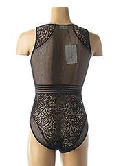 Body lingerie noir BY MALENE BIRGER pour femme seconde vue