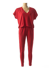 Combi-pantalon rouge BY MALENE BIRGER pour femme seconde vue