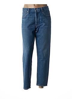 Jeans coupe droite bleu CITIZENS OF HUMANITY pour femme