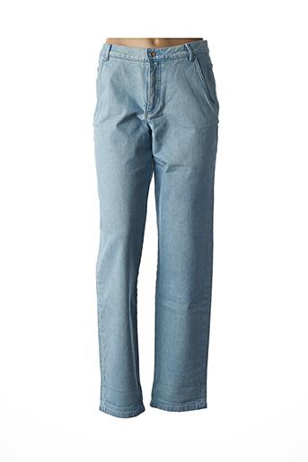 Jeans coupe droite bleu VANESSA SEWARD pour femme