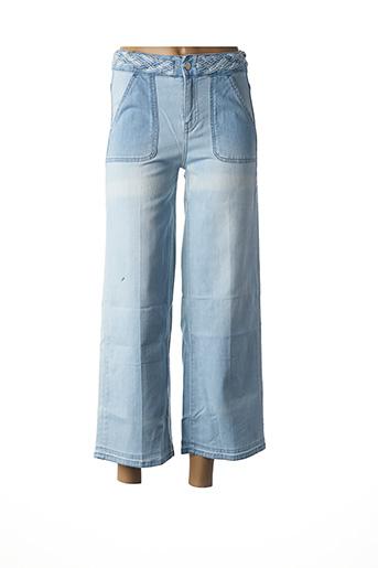 Jeans coupe large bleu NOTIFY pour femme