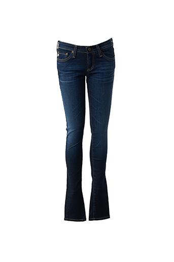 Jeans skinny bleu ADRIANO GOLDSCHMIED pour femme