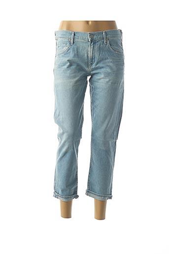 Jeans coupe slim bleu CITIZENS OF HUMANITY pour femme