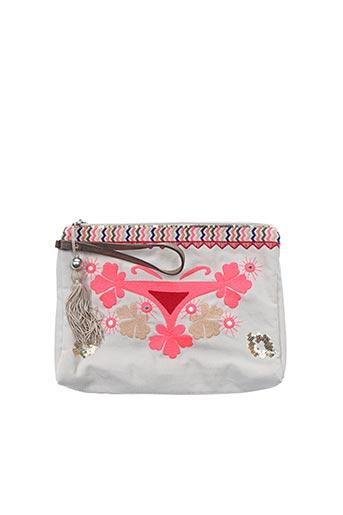 Pochette rose AMENAPIH pour femme