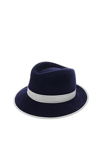 Chapeau bleu BLANCHE ABEL pour femme