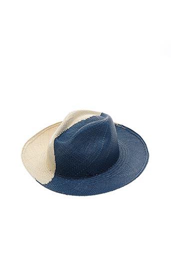 Chapeau bleu ARTESANO pour femme