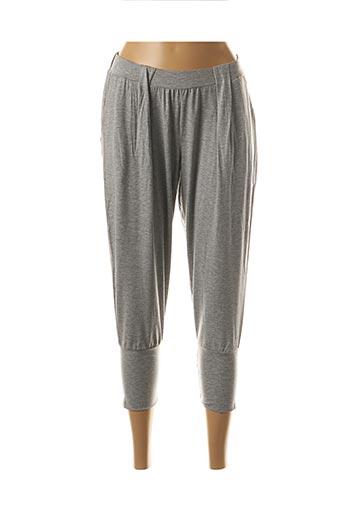 Pantalon casual gris HANRO pour femme