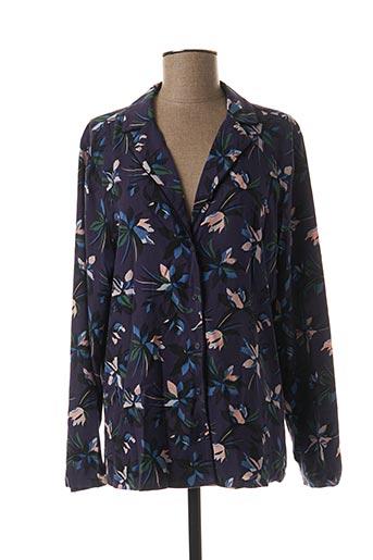 Pyjama violet PRINCESSE TAM-TAM pour femme