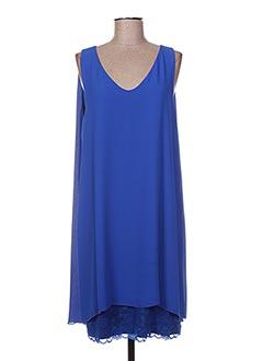 Robe mi-longue bleu DIAMBRE pour femme