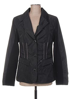 Veste casual noir BARONIA pour femme