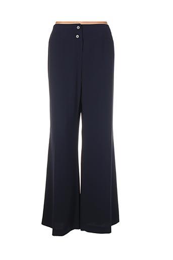 Pantalon casual bleu ATIKA pour femme