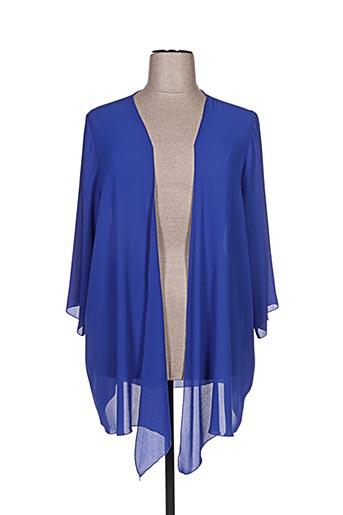 Veste casual bleu DIAMBRE pour femme