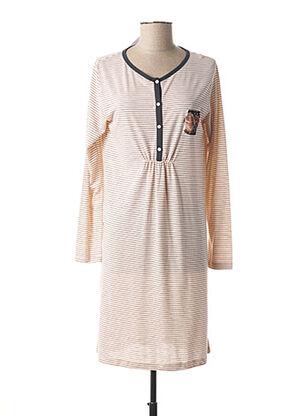 Chemise de nuit rose MASSANA pour femme
