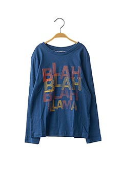 T-shirt manches longues bleu ESPRIT pour garçon
