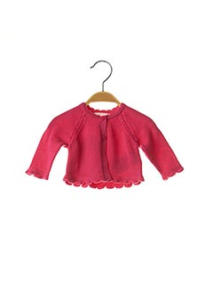 Gilet manches longues rose MAYORAL pour fille