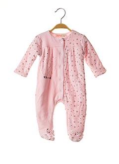 Pyjama rose BABY BOL pour fille