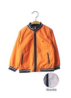 Veste casual orange MAYORAL pour garçon