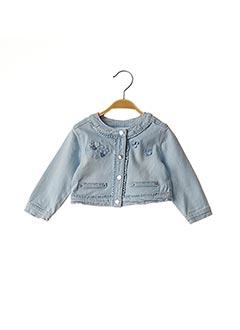 Veste en jean bleu &ALL B pour fille