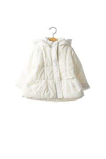 Doudoune blanc ORIGINAL MARINES pour fille