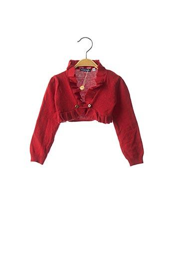 Boléro rouge ORIGINAL MARINES pour fille