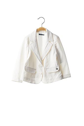 Veste chic / Blazer blanc ORIGINAL MARINES pour fille