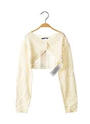 Boléro beige ORIGINAL MARINES pour fille seconde vue