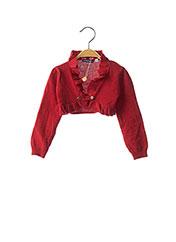Boléro rouge ORIGINAL MARINES pour fille seconde vue