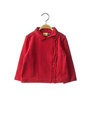 Veste casual rouge ORIGINAL MARINES pour fille seconde vue