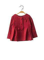 Veste chic / Blazer rouge ORIGINAL MARINES pour fille seconde vue