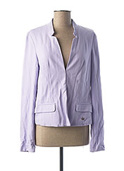 Veste chic / Blazer violet ORIGINAL MARINES pour fille seconde vue
