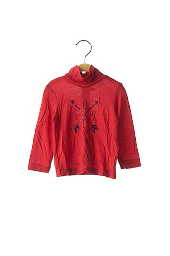 Sous-pull rouge ORIGINAL MARINES pour fille
