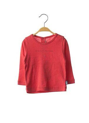 T-shirt manches longues rouge ORIGINAL MARINES pour enfant