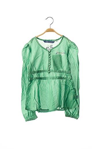 Tunique manches longues vert ORIGINAL MARINES pour fille