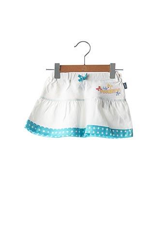 Jupe mi-longue blanc ORIGINAL MARINES pour fille