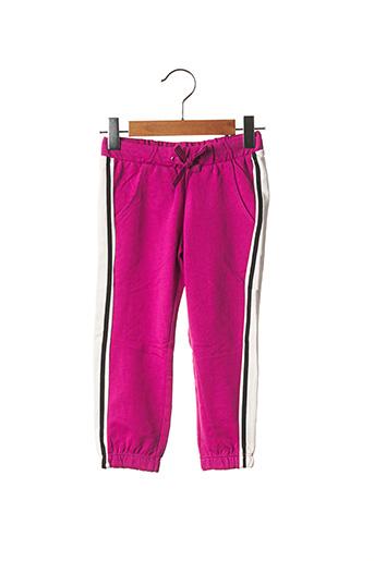 Jogging violet ORIGINAL MARINES pour fille