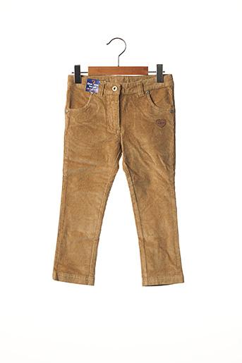 Pantalon casual marron ORIGINAL MARINES pour fille
