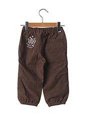Pantalon casual marron ORIGINAL MARINES pour fille seconde vue