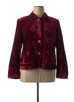 Veste casual rouge FRANK EDEN pour femme