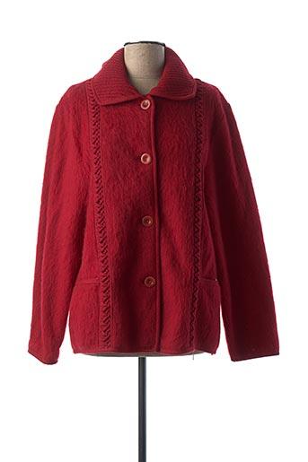 Robe de chambre rouge VAL D'ARIZES pour femme