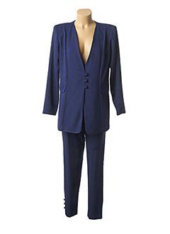 Veste/pantalon bleu HERBERT NADRIEL pour femme