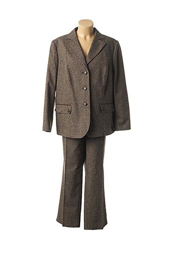 Veste/pantalon marron FRANK EDEN pour femme